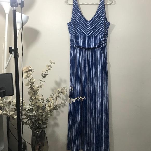 93d03e7bb86 Antibes Blanc Maxi Dress